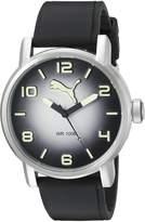 Puma Men's PU104141002 10414 Analog Display Quartz Black Watch