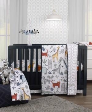 Carter's Safari Party 4-Piece Crib Bedding Set Bedding