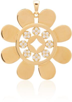 Ashley McCormick 18K Gold And Diamond Necklace