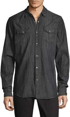 Buffalo David Bitton Seattle Wrinkled Cotton Sport Shirt