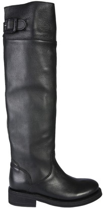 Ash Thunder Buckle Knee-High Boots