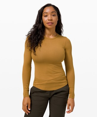 Lululemon Hold Tight Long Sleeve *Rib