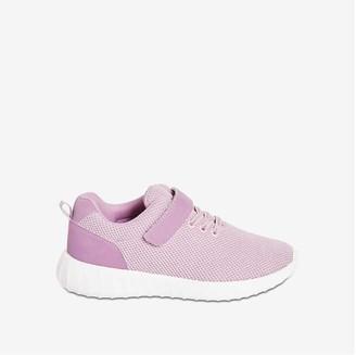 Joe Fresh Kid Girls' Lace-Up Sneakers, Lilac (Size 4)