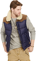Denim & Supply Ralph Lauren Down Fill Gilet, Biella Navy