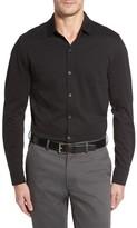 Robert Barakett Men's Atwood Knit Sport Shirt
