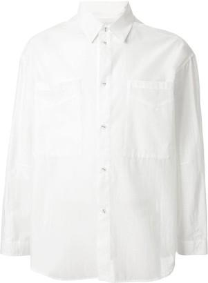 Yoshio Kubo Bird Print Long Sleeve Shirt