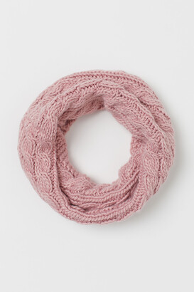 H&M Cable-knit Tube Scarf
