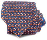 Thomas Pink Jumping Fox Print Classic Tie