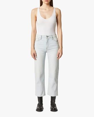 Hudson Remi High-Rise Straight Crop Jeans