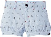 Hatley Nautical Anchor Bloomers (Toddler/Kid) - Blue - 3T