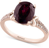 Effy Bordeaux by Rhodolite Garnet (3-7/8 ct. t.w.) and Diamond (1/6 ct. t.w.) in 14k Rose Gold