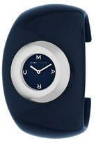 Marc by marc jacobs blue-dial cuff watch