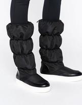 Monki Padded Knee Boot