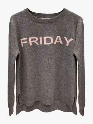 LULU'S LOVE - Grey Friday Cashmere Jumper - XS
