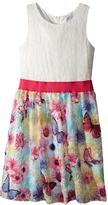 Us Angels Lace Tank Dress w/ Princess Bodice & Full Skirt (Big Kids)