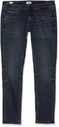 Tommy Jeans Women's Sophie Lr Skinny Ankle Gdk Straight Jeans