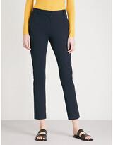Joseph Zoom cropped stretch-gabardine trousers