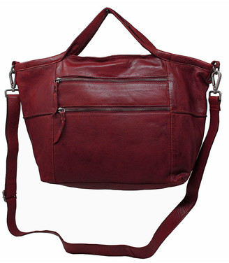 Latico Leathers Leather Women's Totebags OXBLOOD - Oxblood Bedford Leather Tote