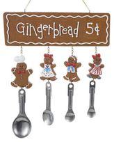Kurt Adler Resin Gingerbread Plaque
