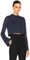 Soyer Pippo Cropped Top in Blue.