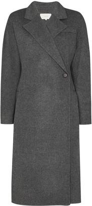 LVIR Double-Breasted Wool Coat