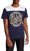True Religion Dimes Graphic Short Sleeve Football Tee