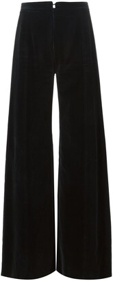 Emanuel Ungaro Pre Owned Flared Trousers