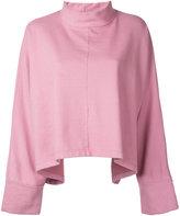 Eckhaus Latta - oversized sweatshirt - women - Cotton - One Size