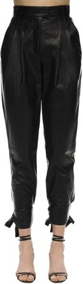 Proenza Schouler High Waist Leather Pants