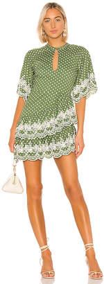 Tularosa Alma Embroidered Dress