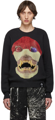 S.R. STUDIO. LA. CA. Black Edition 50 Skulls Sweatshirt