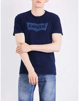 Levi's Logo-print Cotton-blend T-shirt