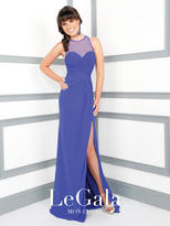 Mon Cheri La Gala Prom by Mon Cheri - 116591 Long Dress In Royal Blue