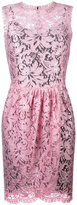 Dolce & Gabbana tulip lace dress - women - Silk/Cotton/Polyamide/Viscose - 40