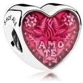 Pandora Latin Love Heart Charm - 792048EN117
