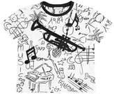 Dolce & Gabbana Instruments Print Cotton Jersey T-Shirt