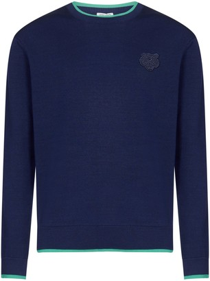 Kenzo Tiger Crest Jumper Sweater
