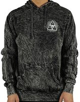 HUF Men's 3Rd Eye Tri Acid Wash Pullover Hood