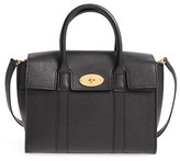 Mulberry 'Small Bayswater' Leather Satchel - Black