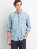 Gap Single pocket denim shirt