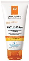La Roche-Posay Anthelios 60 Cooling Water-Lotion Sunscreen for Face and Body, Water Resistant with SPF 60, 5 Fl. Oz.
