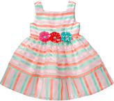 Youngland Young Land Sleeveless Striped Floral Dress - Toddler Girls 2t-4t