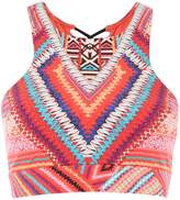 Seafolly Desert tribe crop top