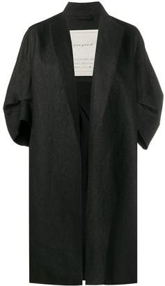 Toogood Draped Single-Breasted Coat
