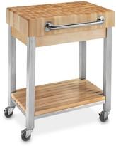 Williams-Sonoma Williams Sonoma John Boos End-Grain Butcher Block Classic Kitchen Cart
