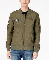 Superdry Men's Rookie Aviator Patch Full-Zip Bomber Jacket