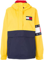 Tommy Jeans fleece-lined pullover jacket