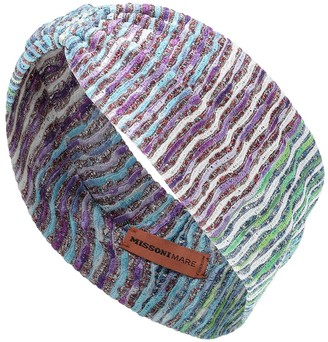 Missoni Mare Chevron-knit headband