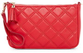 Cole Haan Benson Quilted Leather Demi Wristlet