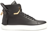 Buscemi 125mm Corner leather high-top trainers
